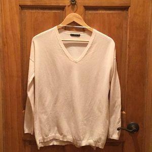 Zara knit neck sweater oversized